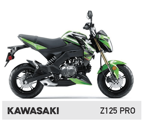Maxxis - Kawasaki Z125 Pro